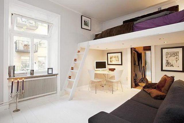 Как сделать кровать под потолком своими руками 45