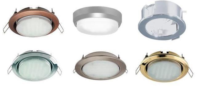 накладные потолочные светодиодные светильники