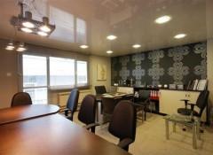 Какие бывают офисные подвесные потолки?