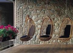 Что собой представляют подвесные кресла к потолку?