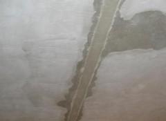 Что такое русты на потолке и как выполняется их заделка?