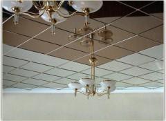 Основные виды, преимущества и недостатки зеркальных подвесных потолков