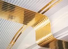 Французские реечные потолки — особенности дизайна и монтажа