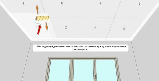 Подготовка к покраске потолка своими руками видео