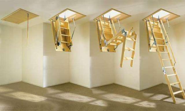 Чердачные лестницы своими руками - как сделать лестницу на