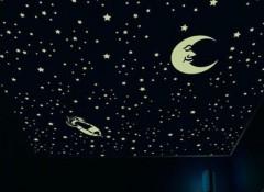 Создаем «звездное небо» с помощью наклеек-звездочек