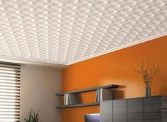 Что собой представляет пенопластовый потолок?