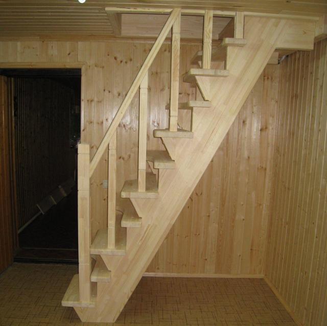 Чердачные лестницы своими руками фото