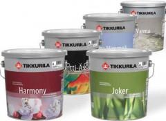 Разновидности и особенности водоэмульсионных красок для потолка Тиккурила