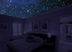 Создаем звездное небо на потолке с помощью проектора и оптоволокна