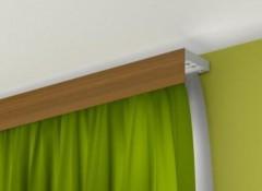 Какие гардины лучше установить при натяжном потолке?
