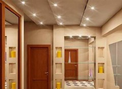 Потолок в прихожей — какой лучше?