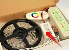 Основные преимущества и виды светодиодных лент, применяемых для подсветки потолка
