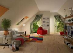 Оформляем мансарду — отделка потолка гипсокартоном