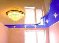 Выбираем натяжной потолок, что лучше — ПВХ пленка или ткань?