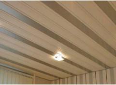Преимущества и варианты исполнения панельного потолка