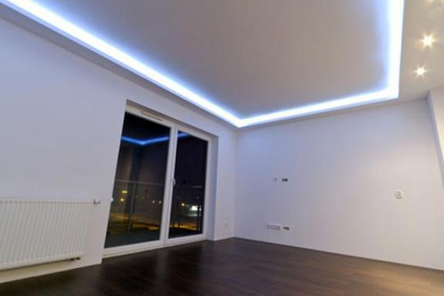 Как сделать подсветку по периметру потолка