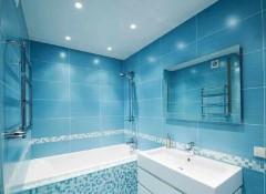 Как выбрать потолочное покрытие для ванной комнаты?