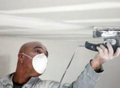 Различные способы шлифовки потолка