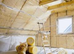 Как утеплить потолок мансарды?