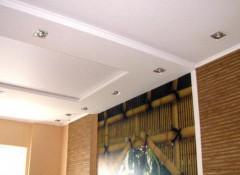 Натяжной потолок и гипсокартонный — какой дешевле?