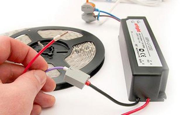 Светодиодные ленты монтаж и подключение своими руками
