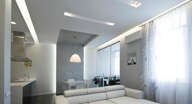 Как в доме сделать ниже потолок фото 381