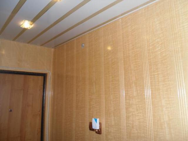 Как сделать панели в коридоре