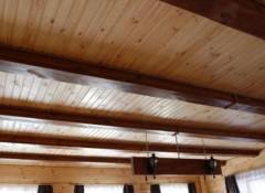 Из чего лучше сделать потолок на даче?