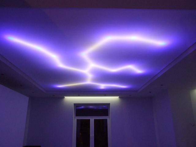 центральное освещение потолков