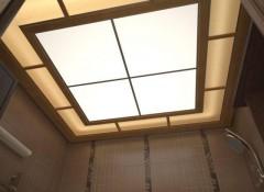 Что представляют собой акриловые потолки?
