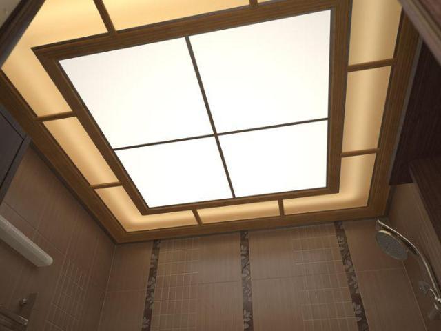 Как сделать стеклянный потолок