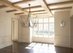 Варианты отделки балочного потолка