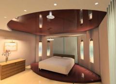 Потолки в спальне — какие сейчас в моде?