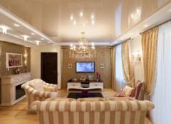 Преимущества и недостатки натяжных потолков в квартире