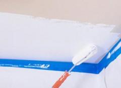 Побелка потолка мелом — как она выполняется?