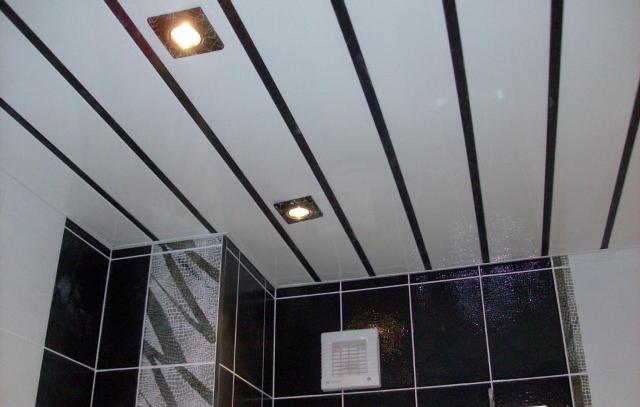 Описание различных видов потолочного покрытия