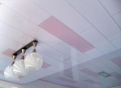 Порядок монтажа пластикового потолка своими руками