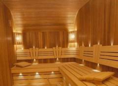 Как обшить вагонкой потолок в бане?