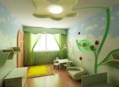 Какое решение выбрать при ремонте потолка в детской?
