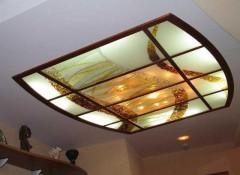 Виды и особенности стеклянных потолков с подсветкой