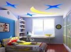 Оформление детской комнаты — дизайн и декор потолка