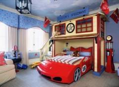 Варианты оформления потолка в детской для мальчика