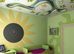 Плюсы и минусы гипсокартонных потолков в детской комнате