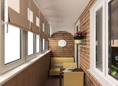 Потолок на балконе — из чего лучше сделать?