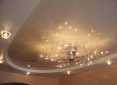 Низкие потолки — какие лучше выбрать люстры и светильники?