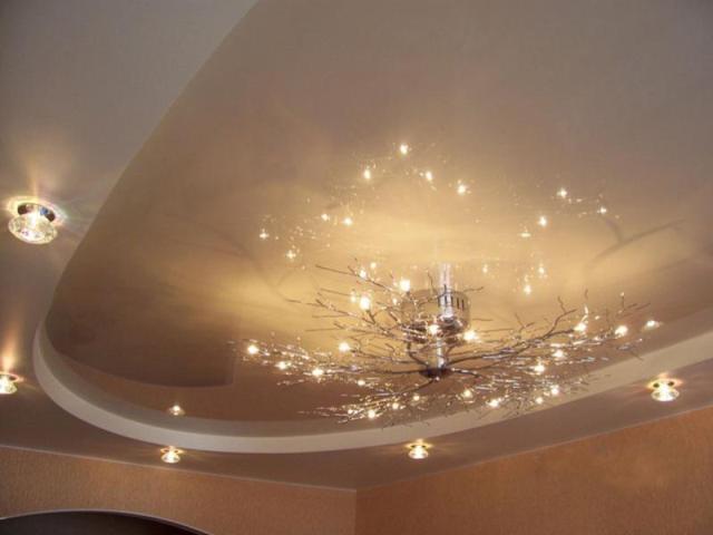 люстры фото для низких потолков