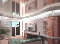 Преимущества, недостатки и особенности натяжных потолков «металлик»