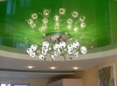 Светильники на натяжном потолке — монтаж и выбор оптимального расположения