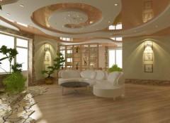 Как устанавливаются на закругленный потолок натяжные потолки?